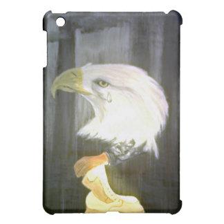 Coque ipad de cris d'Eagle d'Américain