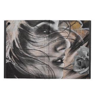 Coque ipad de femme de graffiti