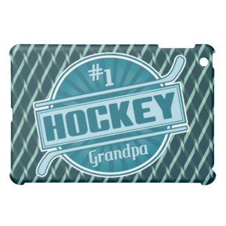 Coque ipad de grand-papa de l'hockey #1