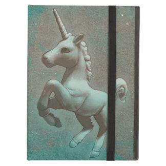 Coque ipad de licorne (acier turquoise)