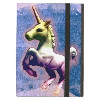 Coque ipad de licorne (bleu brûlé)