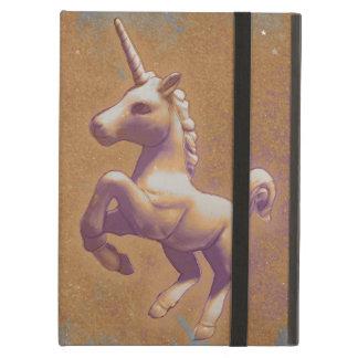Coque ipad de licorne (lavande en métal)