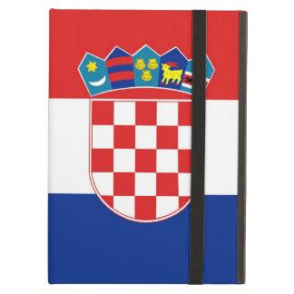 Coque ipad de Powis avec le drapeau de la Croatie