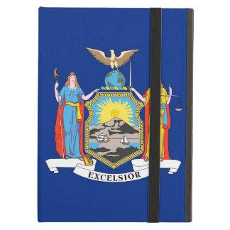 Coque ipad de Powis avec le drapeau de l'état de