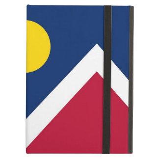 Coque ipad de Powis avec le drapeau de ville de
