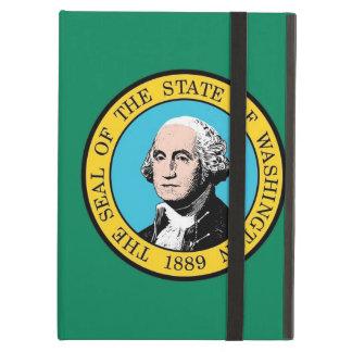 Coque ipad de Powis avec le drapeau de Washington,