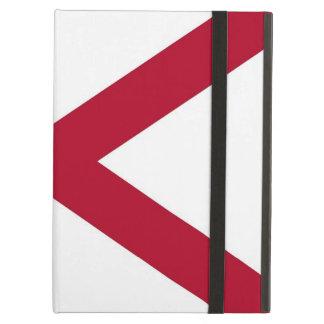 Coque ipad de Powis avec le drapeau d'état de
