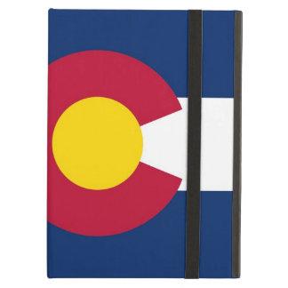 Coque ipad de Powis avec le drapeau d'état du