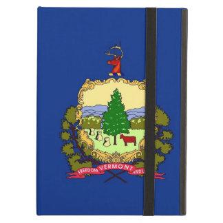 Coque ipad de Powis avec le drapeau du Vermont,