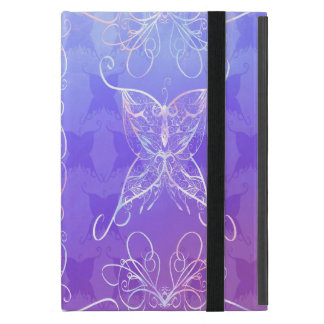 Coque ipad de ruban de papillon