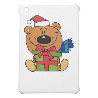 Coque ipad d'ours de nounours de Noël