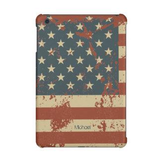 Coque ipad grunge de drapeau de l'Amérique de Jour