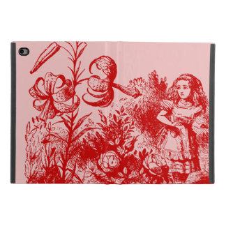 Coque iPad Mini 4 Alice vintage au pays des merveilles