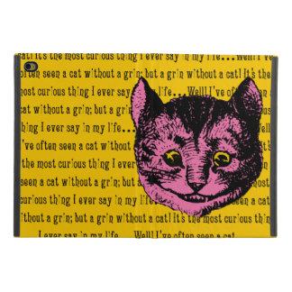 Coque iPad Mini 4 Alice vintage chez le chat de Cheshire du pays des