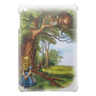 Coque iPad Mini Alice et le chat de Cheshire