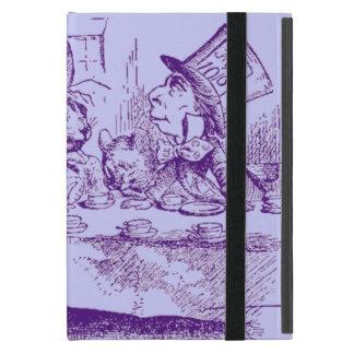 Coque iPad Mini Alice vintage au thé du pays des merveilles
