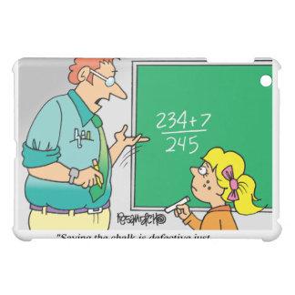 Coque iPad Mini Bande dessinée d'étudiant du professeur |