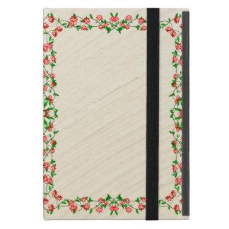 Coque iPad Mini Cadre de rose