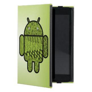 Coque iPad Mini Caractère de griffonnage de Paisley pour Android™