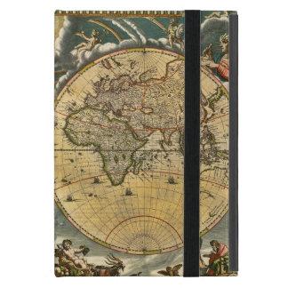 Coque iPad Mini Carte antique J. Blaeu 1664 du monde