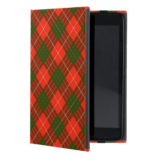 Coque iPad Mini Cas d'iPad de tartan de Crawford mini