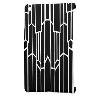 Coque iPad Mini Cascade noire et blanche de Geo