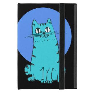 Coque iPad Mini chat doux reposant la bande dessinée drôle