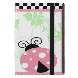 Coque iPad Mini Coccinelle rose