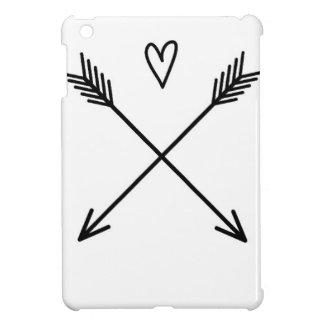 Coque iPad Mini Coeurs et flèches
