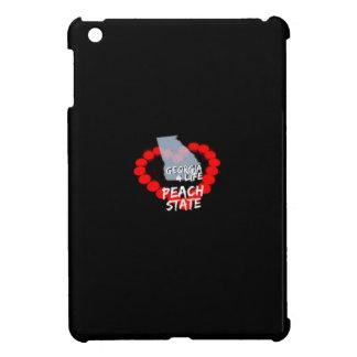 Coque iPad Mini Conception de coeur de bougie pour l'état de