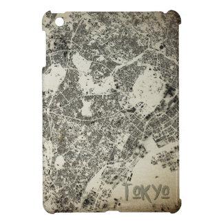 Coque iPad Mini Conception vintage de rues et de bâtiments de