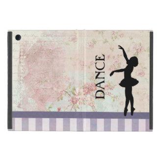 Coque iPad Mini Danse - silhouette de ballerine sur l'arrière -