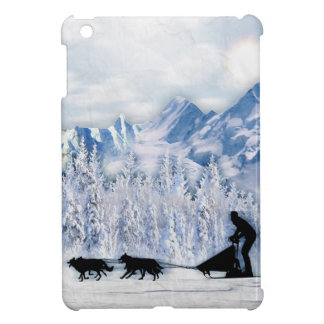 Coque iPad Mini Dogsledding