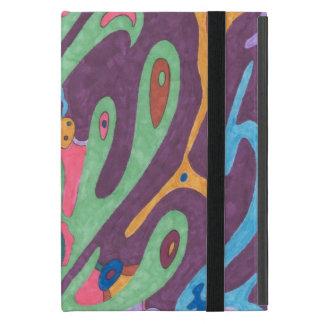"""Coque iPad Mini """"En tant qu'un"""" art abstrait"""