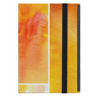 Coque iPad Mini Ensemble d'aquarelle abstraite peint à la main