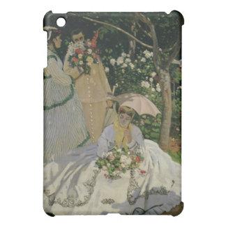 Coque iPad Mini Femmes de Claude Monet   dans le jardin