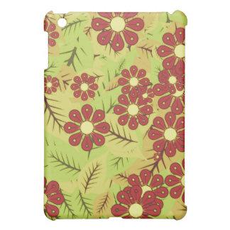 Coque iPad Mini Feuillage et fleurs