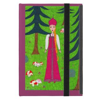 Coque iPad Mini Forêt de champignon
