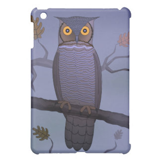 Coque iPad Mini Hibou sur la branche
