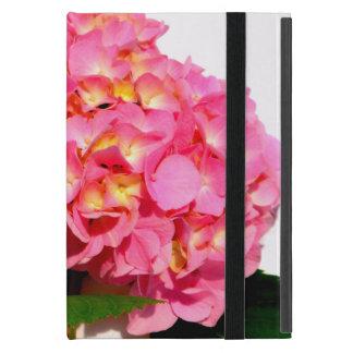 Coque iPad Mini Hortensia rose