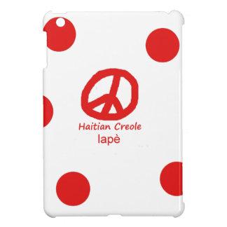 Coque iPad Mini Langue et conception créoles haïtiennes de symbole