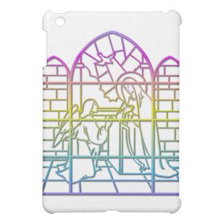 Coque iPad Mini L'annonce (Vierge Marie béni et ange)