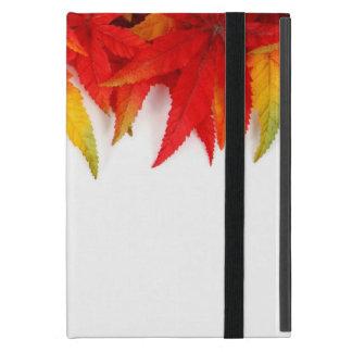 Coque iPad Mini L'automne/automne laisse la couverture d'Ipad de