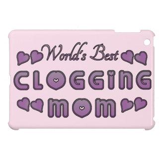 Coque iPad Mini Le meilleur pourpre obstruant de la maman du monde