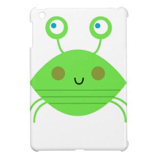 Coque iPad Mini Le petit crabe mignon sur le blanc