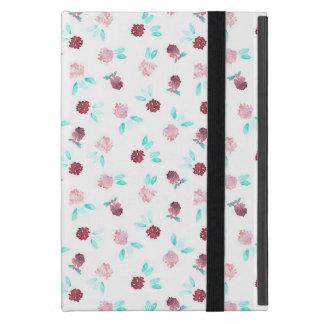 Coque iPad Mini Le trèfle fleurit la mini caisse d'iPad sans