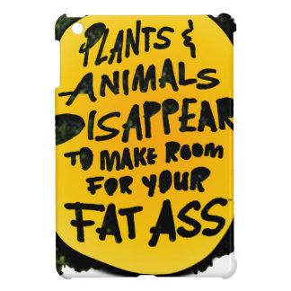 Coque iPad Mini Les PLANTES et les ANIMAUX DISPARAISSENT…
