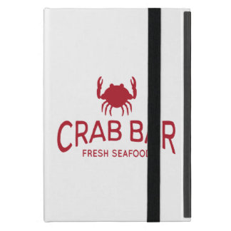 Coque iPad Mini Logo frais de fruits de mer de barre de crabe