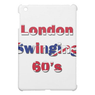 Coque iPad Mini Londres balançant 60s