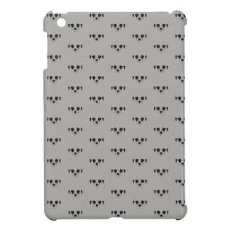 Coque iPad Mini Meerkat font face à la silhouette
